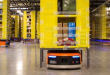 Amazon's Kiva Robot.