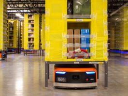 Amazon's Kiva Robot.